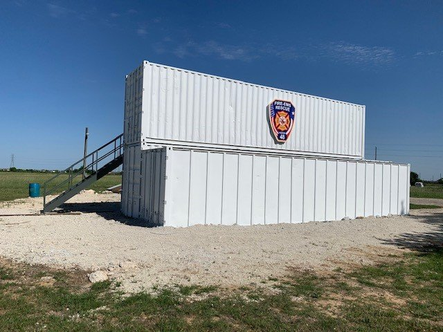 This new facility allows Harris County Emergency Services District 48 to improve skills locally and has helped the department earn recognition from the Texas Commission on Fire Protection for having a certified training facility for structure firefighters.