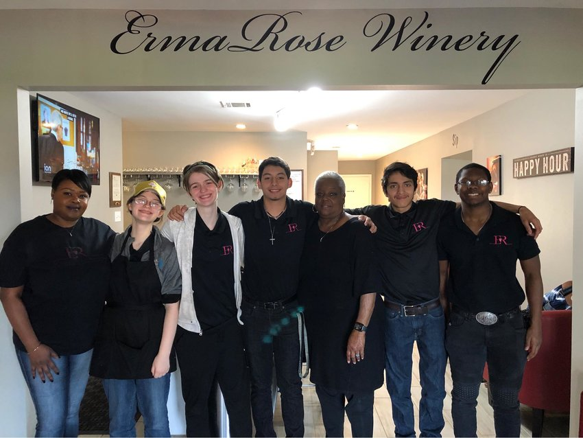 Most of the ErmaRose staff are related to Jennifer Prothow, with her brother and his friends lending a hand.