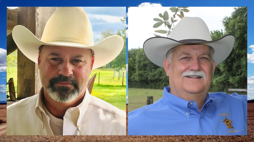Troy Guidry (left) will face incumbent Waller County Sheriff R. Glenn Smith (right) in a runoff election July 14. Early voting begins June 29. The winner will face the Democratic nominee in the fall.
