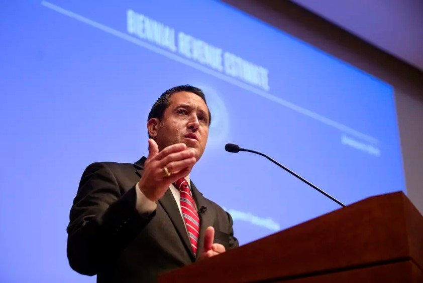 On Monday, Comptroller Glenn Hegar announced the economic blow from the coronavirus pandemic had created a large shortfall in the budget. The coronavirus pandemic and low oil prices are driving down projected general revenue in the state's current budget by more than $11 billion.
