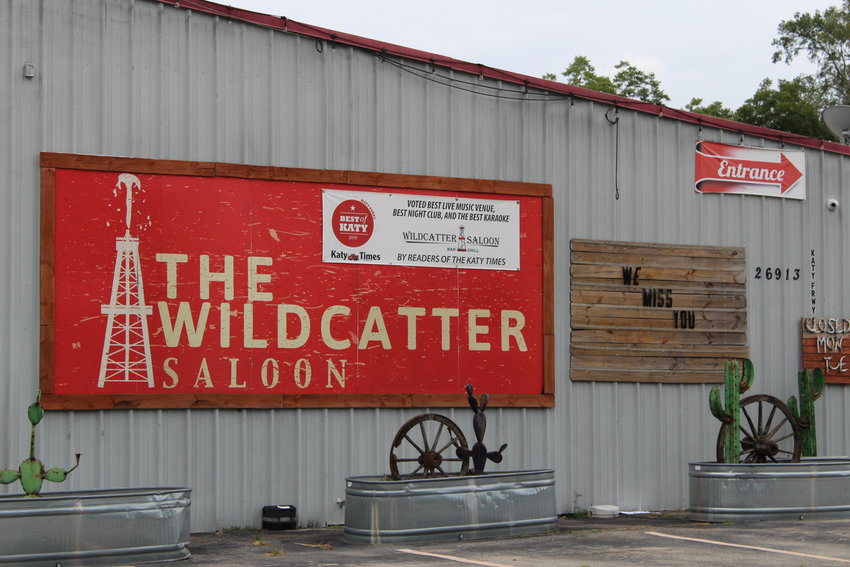 The Wildcatter Saloon, which sits on three and a half acres of land, is closed to customers because of the governor's executive order to fight the spread of COVID-19. Efforts are underway to ask that bars be allowed to reopen in some capacity.