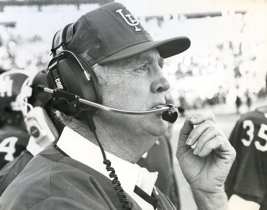 Bill Yeoman served as the University of Houston's football coach from 1962 to 1986. The Cougars had 17 winning seasons under Yeoman, including nine campaigns with at least eight victories.