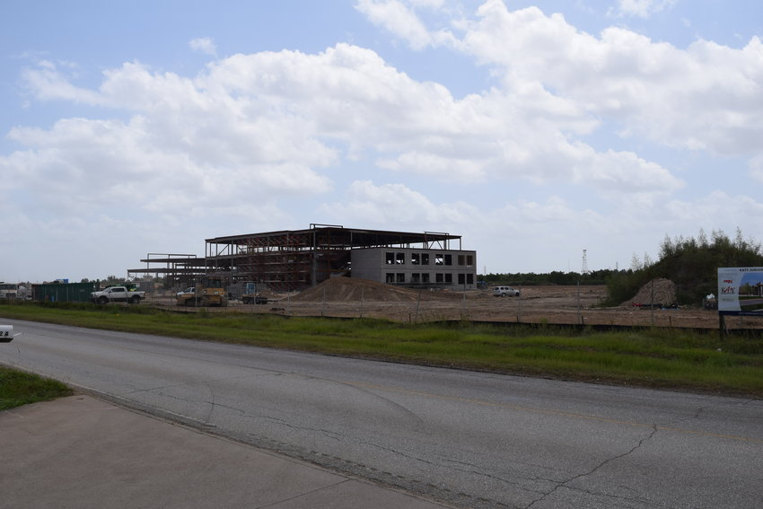 Construction is well underway on Katy Junior High No. 17. The new facility has a budget of more than $60 million that was approved by voters in a 2017 bond election. The facility is located in the southeastern corner of the intersection of Katy Hockley Road and Clay Road. District staff have said the new campus is necessary as development continues to push the district's student body growth over the next several years.