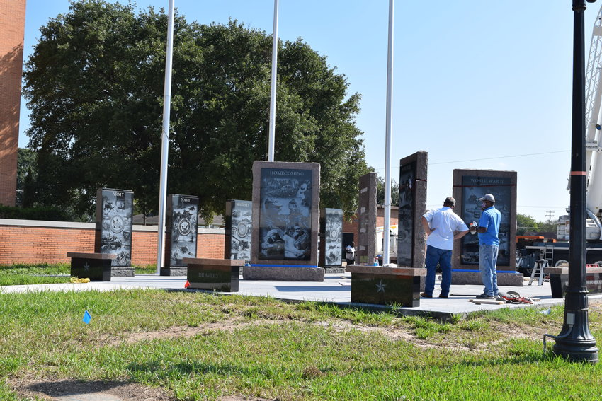 Waller County finished the installation of its new veterans memorial Sept. 16. The veteran-run project has been in development since before 2014.