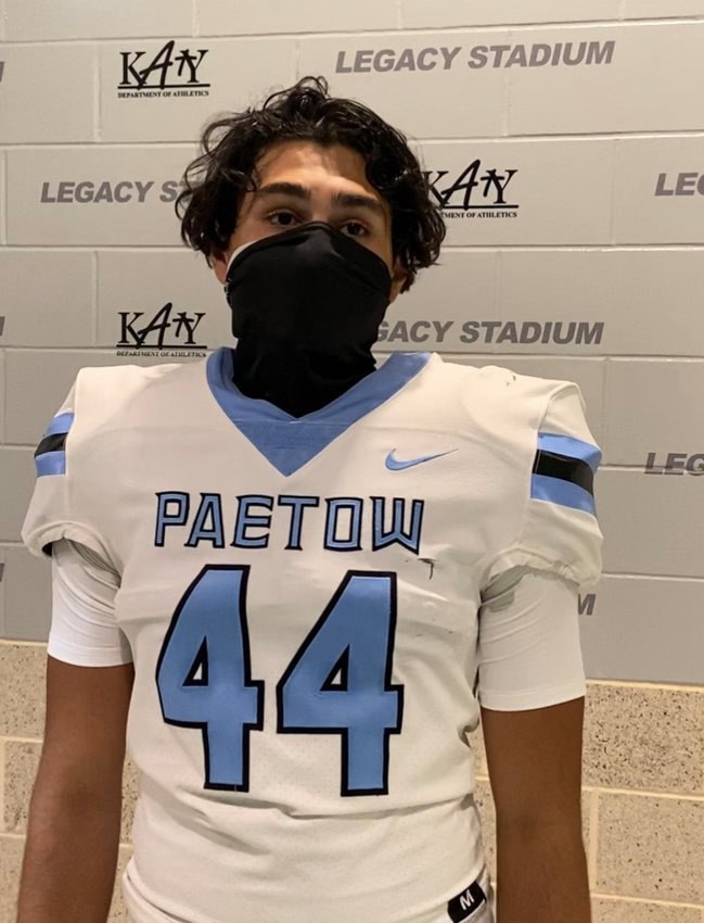 Paetow junior kicker Anthony Fuentes' 23-yard field goal as time expired won the Panthers a 38-35 decision over rival Morton Ranch on Oct. 2 at Legacy Stadium.