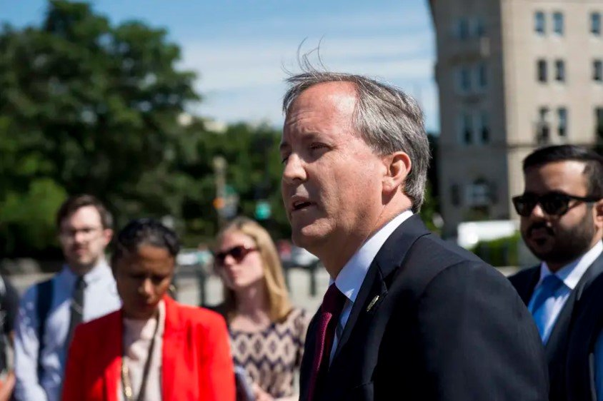 Texas Attorney General Ken Paxton says he will not resign his post as the state's top lawyer after allegations of criminal activity.