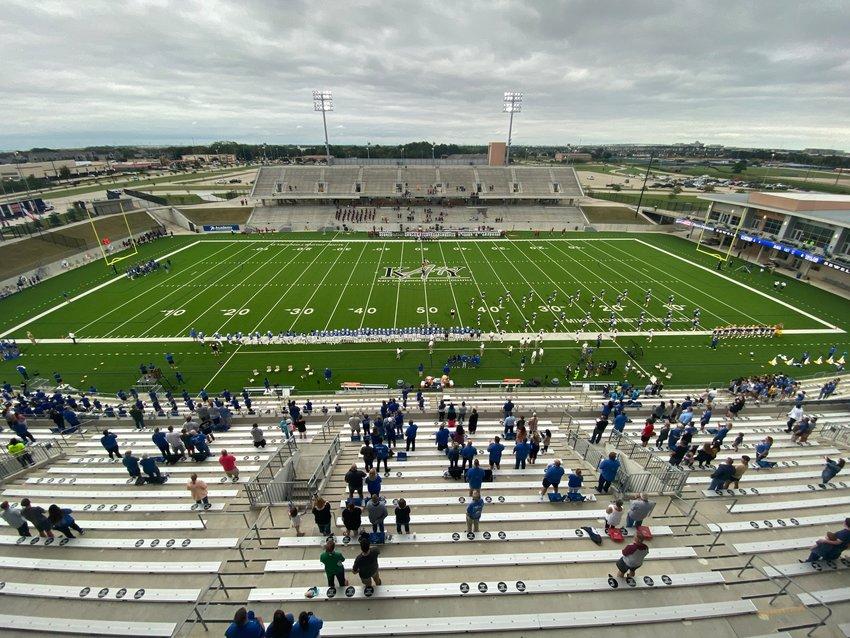 Katy ISD's Legacy Stadium.