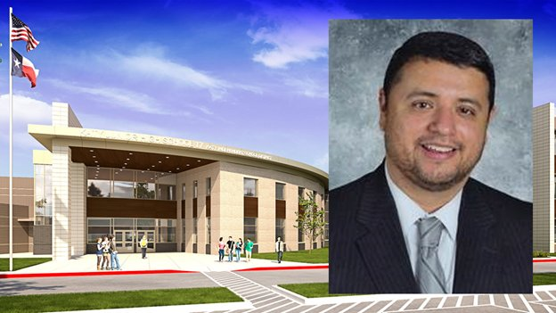 David Paz will be the new principal at Bill and Cindy Haskett Junior High School which is currently under construction at 25737 Clay Road near the intersection of Clay and Katy Hockley roads. The new facility is estimated to have a cost of about $65.6 million and the district is planning on opening the campus for the 2021-22 school year.