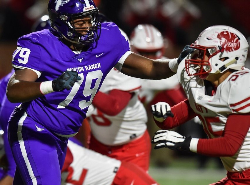 A cooking aficionado who plans to study microbiology in college, Morton Ranch senior offensive lineman and Yale commit Aaron Session is a budding prospect