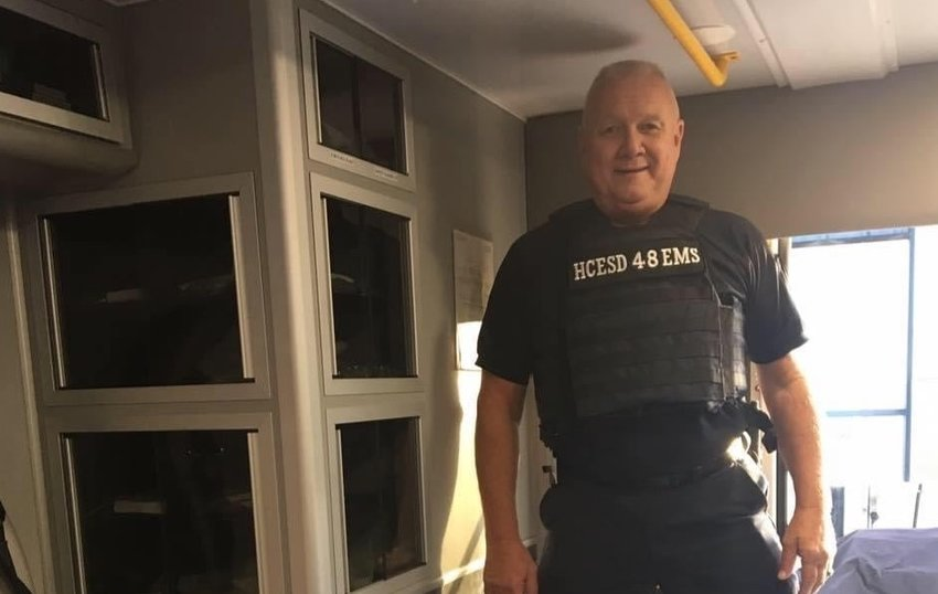 Harris County Emergency Services District Paramedic Gordon Baker has died after a two-month fight with COVID-19. Baker worked as a first responder for nearly 30 years and was a beloved member of the HCESD 48 team.