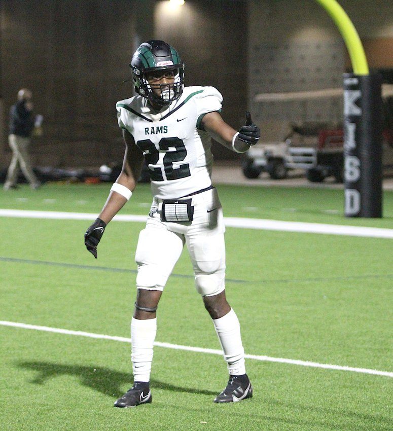 Mayde Creek senior L'den Skinner was the top receiver in Katy ISD this season. He verbally committed to Eastern Illinois on Dec. 6.