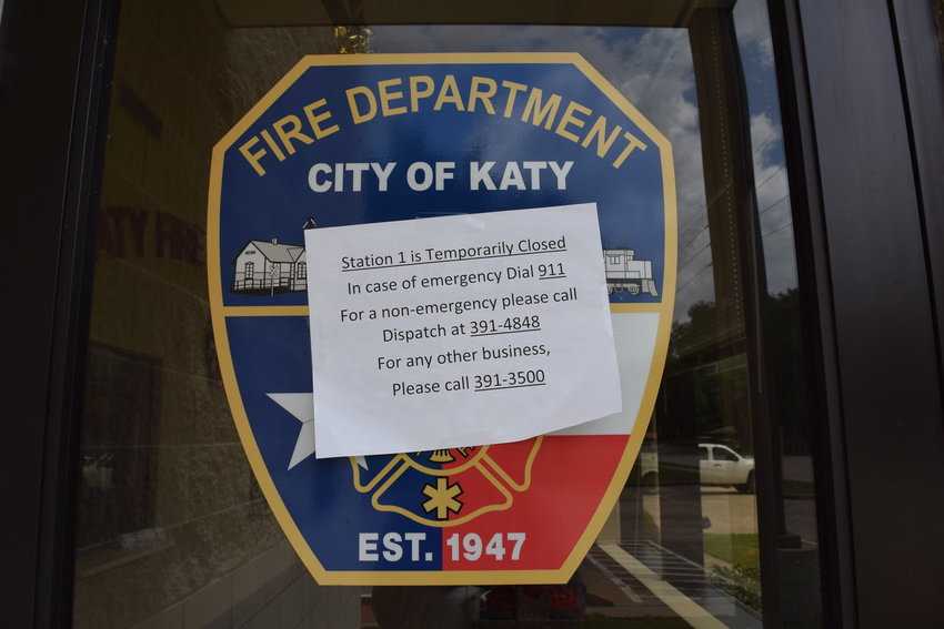 Fire and EMS workers have been working out of other city facilities since a mold infestation at Fire Station One in Katy pushed them out in early May.