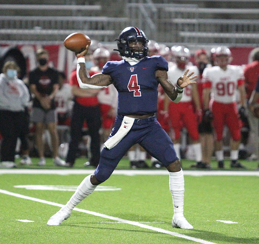 Tompkins senior quarterback Jalen Milroe found the culture and system at Alabama too important to pass up.