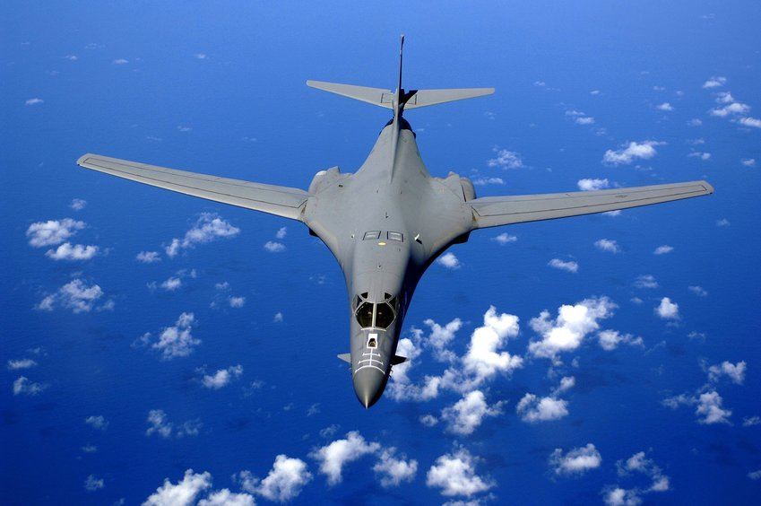 A military jet.