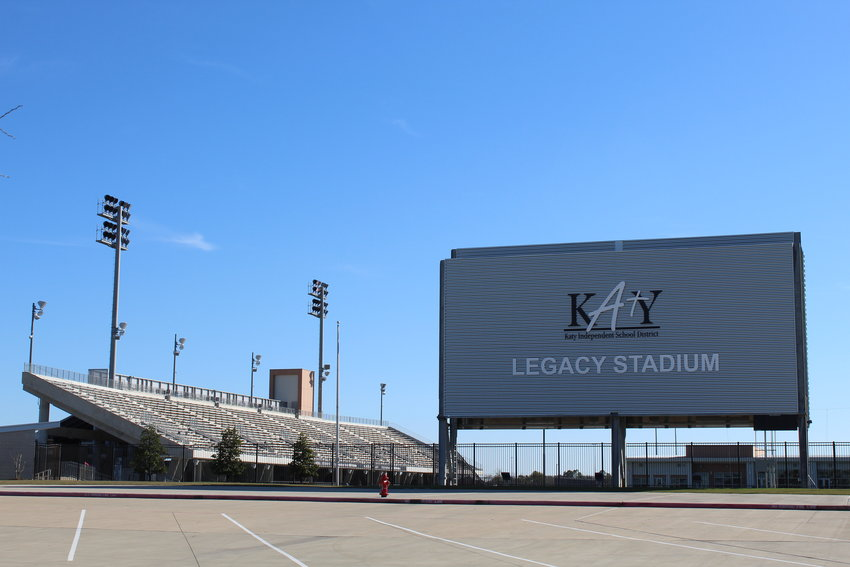 Katy ISD is calling for a bond election in May and in order to address growth by adding campuses and facilities to accommodate new students projected to come to the district over the next decade or so. The district has a long history of bonds, including a $748 million bond package in 2014 that paid for multiple new campuses and Legacy Stadium (pictured) which cost about $70.3 million.