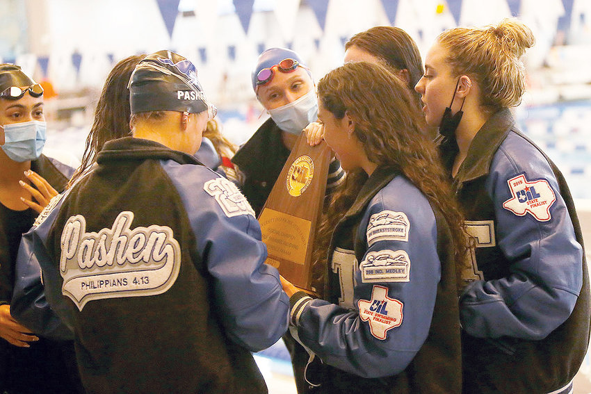 Taylor's girls swimming team won its third consecutive regional championship two weeks ago and looks to best last season's fourth-place standing at the UIL state championships.