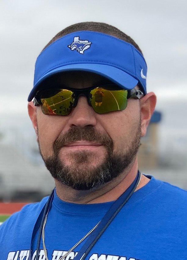 J Jensen, Mayde Creek's new head football coach/campus athletic coordinator.