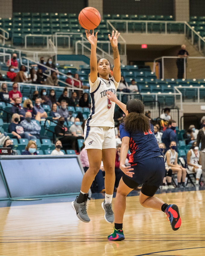 Tompkins senior guard Crystal Smith was the District 19-6A girls basketball Most Valuable Player this season.