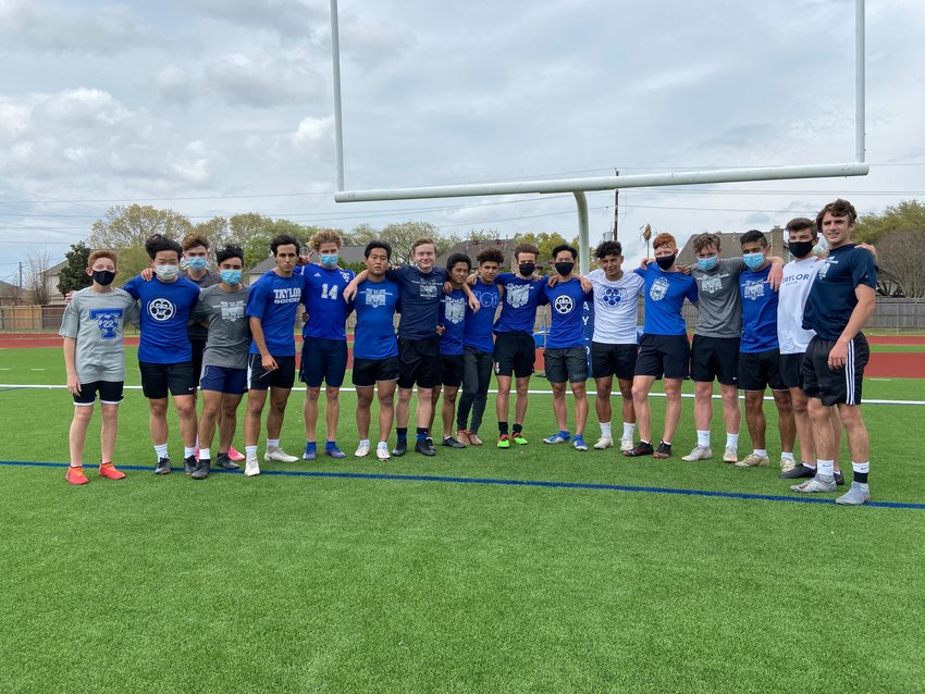 Pictured are the non-American players of the Taylor varsity boys soccer team.