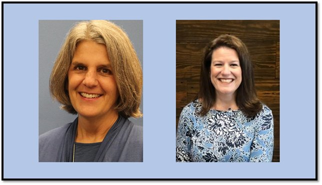 Katy ISD has announced that Deb Hubble (left) of Morton Ranch Elementary School and Emily Craig (right) of Memorial Parkway Junior High School have been awarded the honor of Katy ISD's principals of the year for the 2020-21 school year.