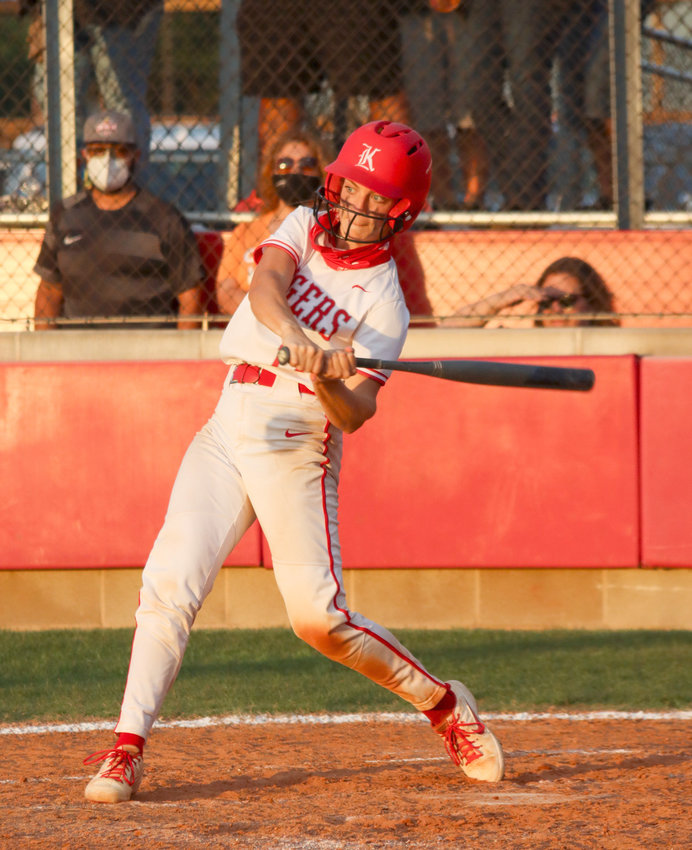 Katy High junior catcher Kailey Wyckoff was named District 19-6A softball's Most Valuable Player for the 2021 season.