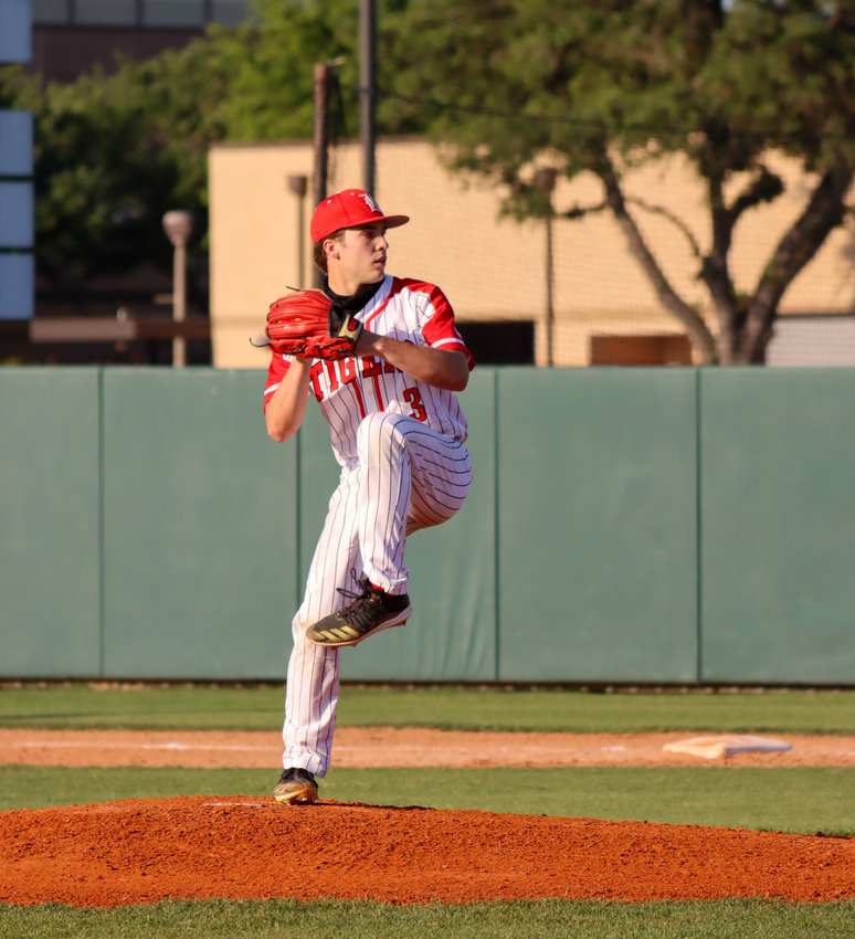 Katy High senior pitcher Caleb Matthews was named District 19-6A's Most Valuable Player this season.