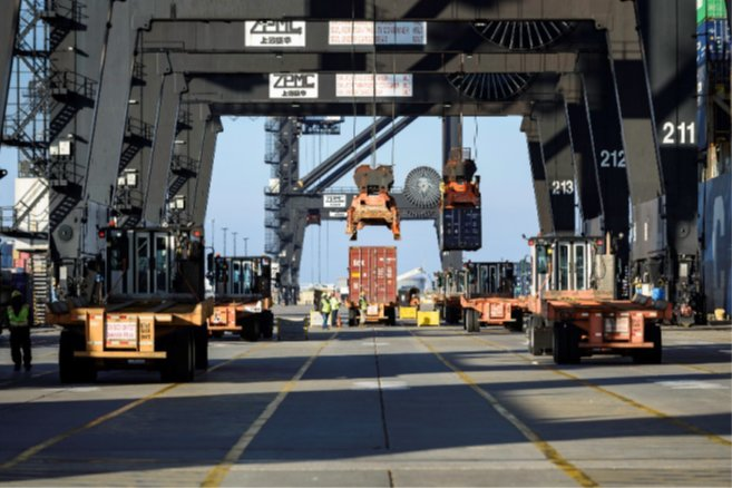 Port Houston operates the Bayport Container Terminal. Activity at the terminal has seen a steady increase this year and a great improvement over last year as an economic indicator, according to data from the port.