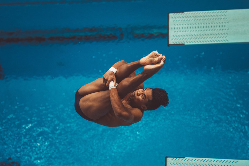 Texas senior Jordan Windle will compete in the 10-meter platform for Team USA at the Tokyo Olympics.