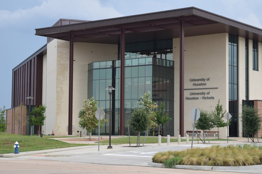 DeCuir works at the University of Houston-Victoria's Katy campus located at 22400 Grand Circle Boulevard in Katy. The facility also holds the University of Houston's Katy Campus and is within walking distance of Houston Community College's upcoming Katy Campus.