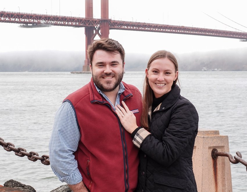 Brent Phelps (left) will marry Colleen Wagner (right) next August in a ceremony at The Junior League of Houston.
