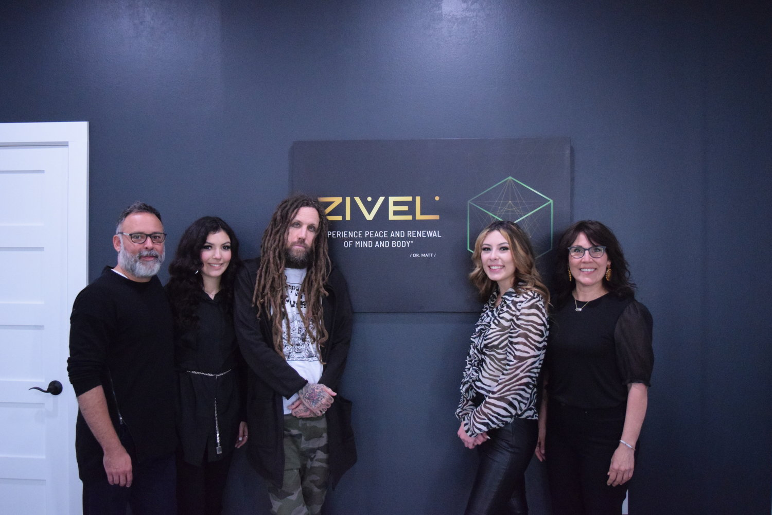Korn's Brian 'Head' Welch and local family bring ZIVEL spa to Katy area