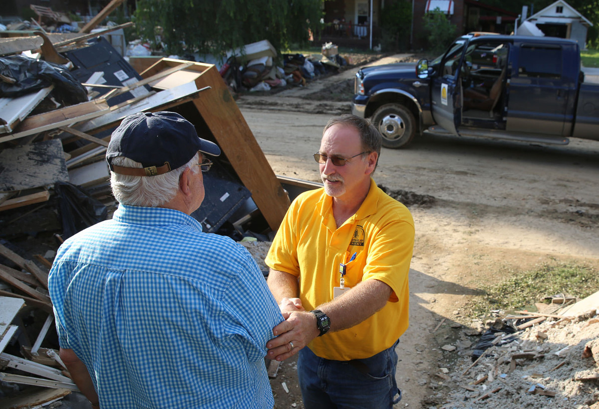 Kentucky Baptist Disaster Relief crews have been deployed to hurricane-ravaged communities. Next stop will be the Virgin Islands.