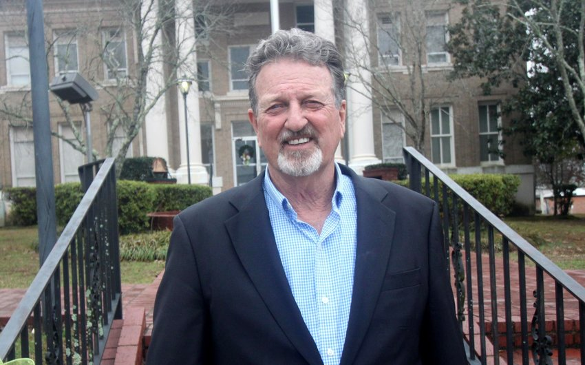 Kemper County supervisor Mike Luke is beginning his 11th term in office, representing District 4.