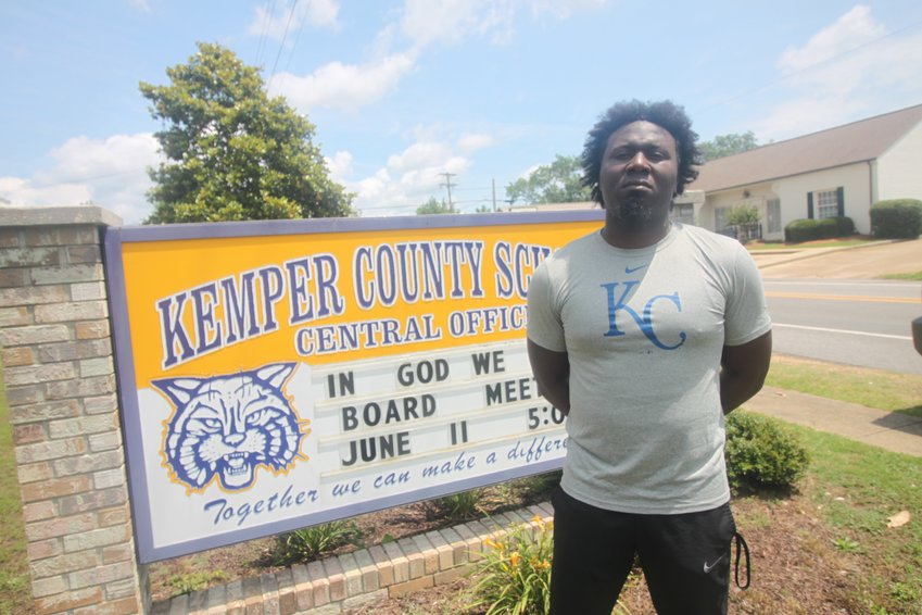 Coach Ray Westerfield is leading the Kemper County Wildcats through summer workouts.