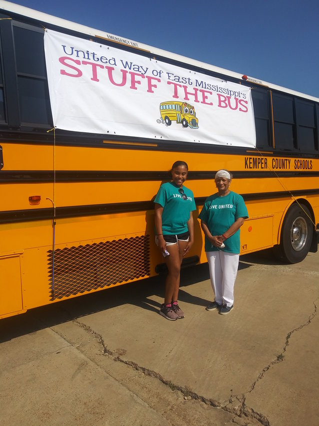 Pictured are Kayla Powe and Loretta Hulin.