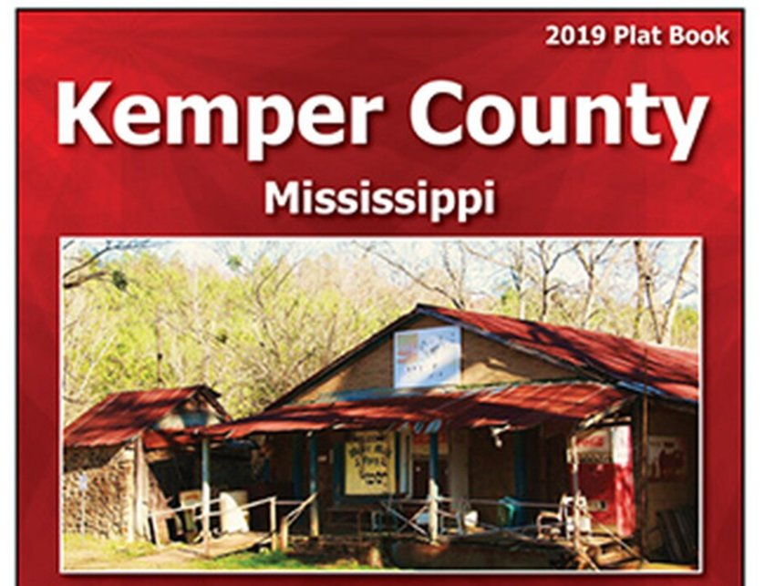 The new 2019 edition of the Kemper County Plat Book is now available for purchase at the Kemper County Soil and Water Conservation District office located at 197 Hopper Ave in DeKalb.