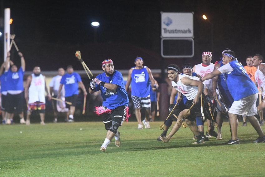 One of the highlights of the Choctaw Indian Fair each year is Stickball. This traditional Tribal game brings together teams from all across the South to compete for the championship. Live music, games and food are also big staples of the fair each year.