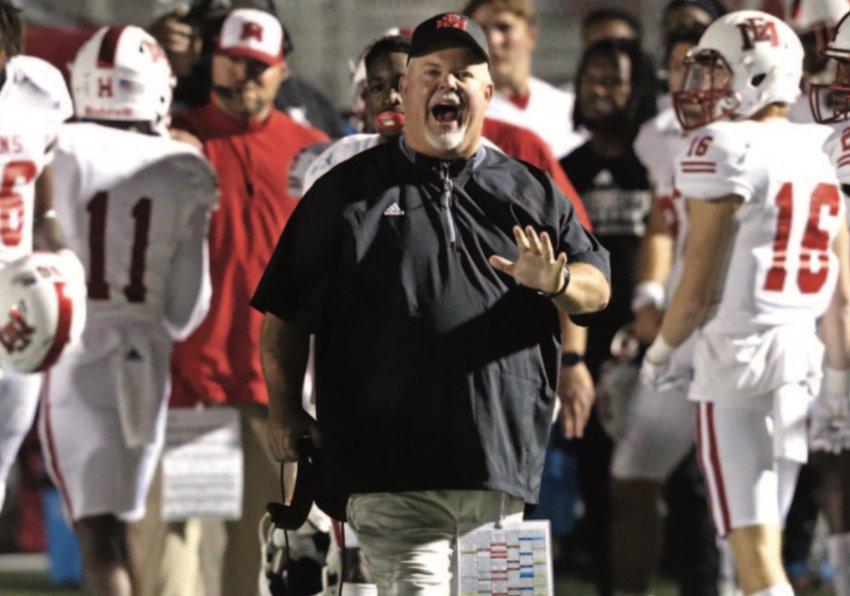EMCC's Coach Buddy Stephens encourages his team.