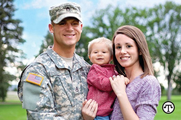 In addition to protecting their country, Americans in the armed forces can protect their families with a long-term care policy.