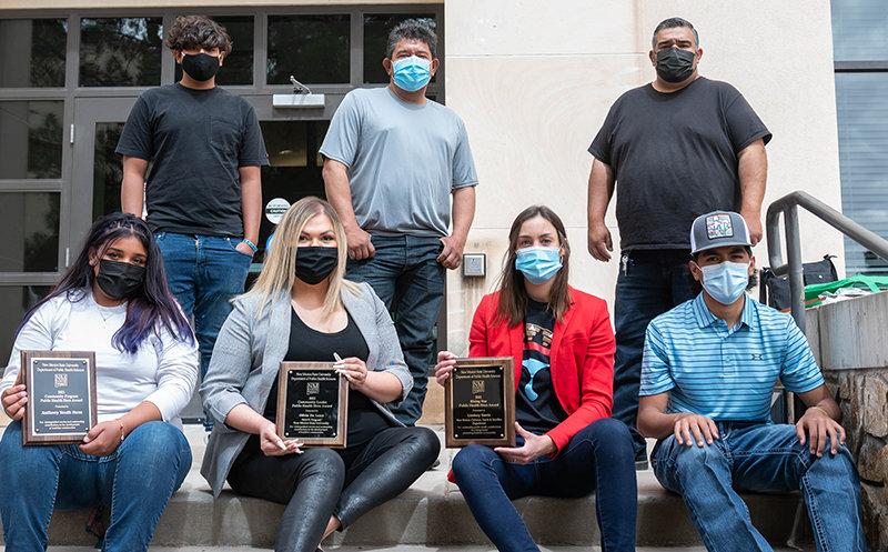 7th Annual Doña Ana County Public Health Heroes Awards Recipiants. (NMSU photo by Josh Bachman)