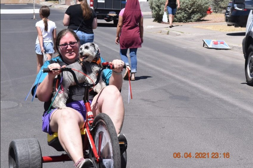 On June 5, Montana Avenue was the site of the City of Las Cruces' second Play Street program.