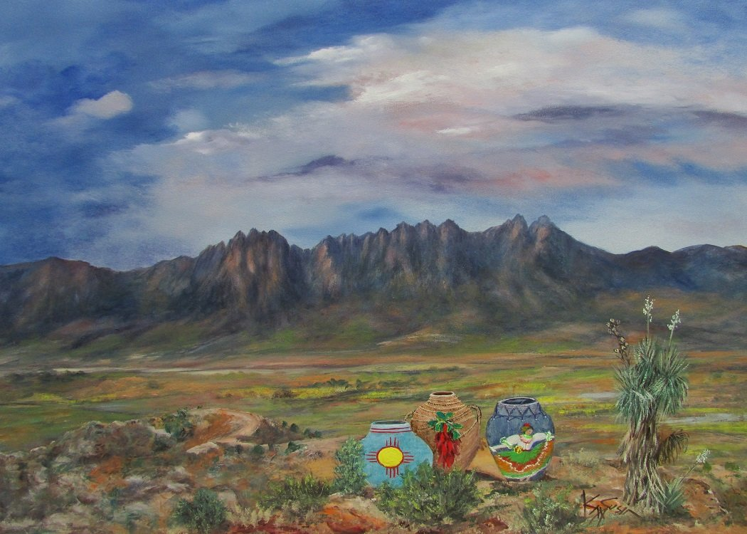 """New Mexico Heritage,"" Kay Susin"