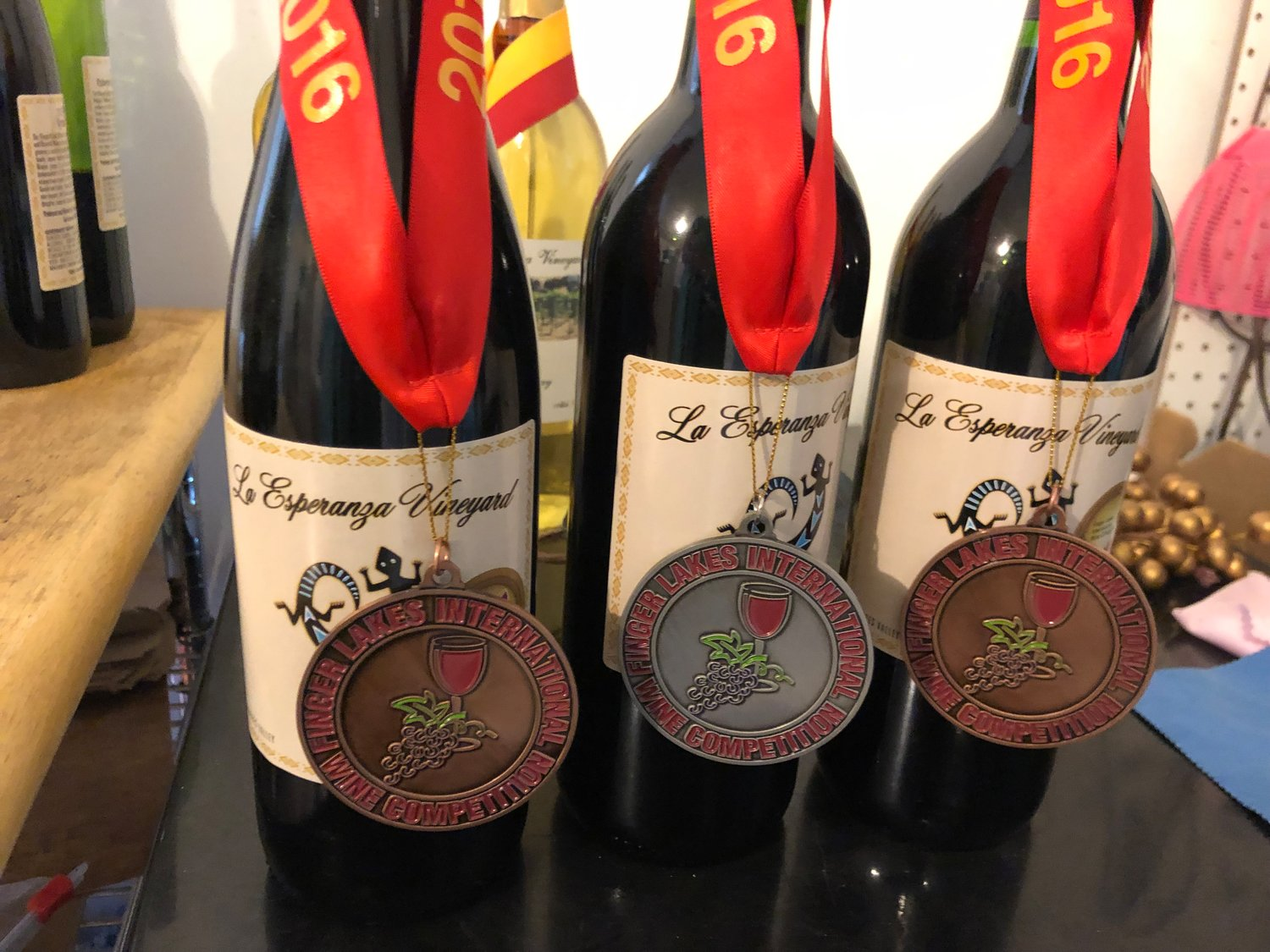 La Esperanza wines are no stranger to winning both state and national awards over the years.