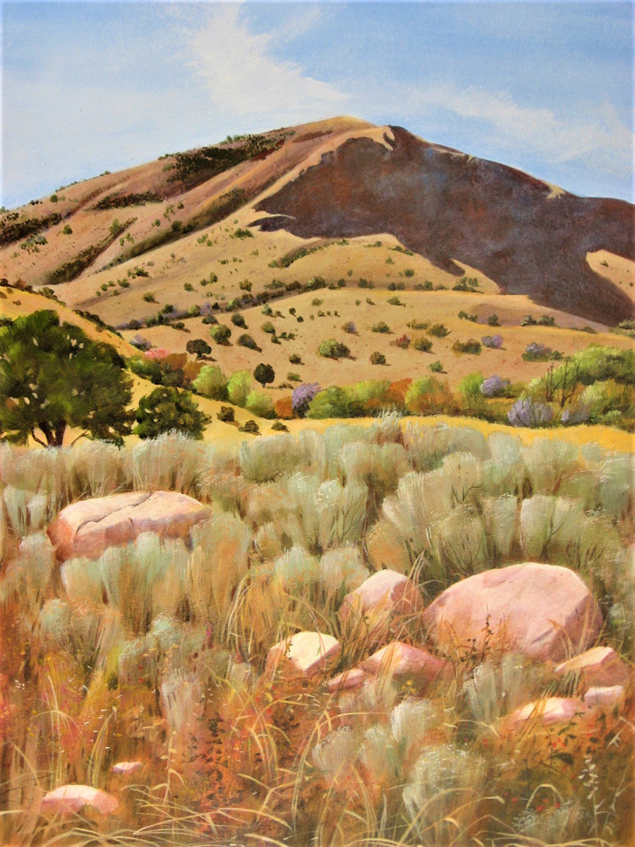 "Marie Seigrist's ""Frary Peak Antelope Island Utah"" is the focus of the DAAC gallery exhibit for September."
