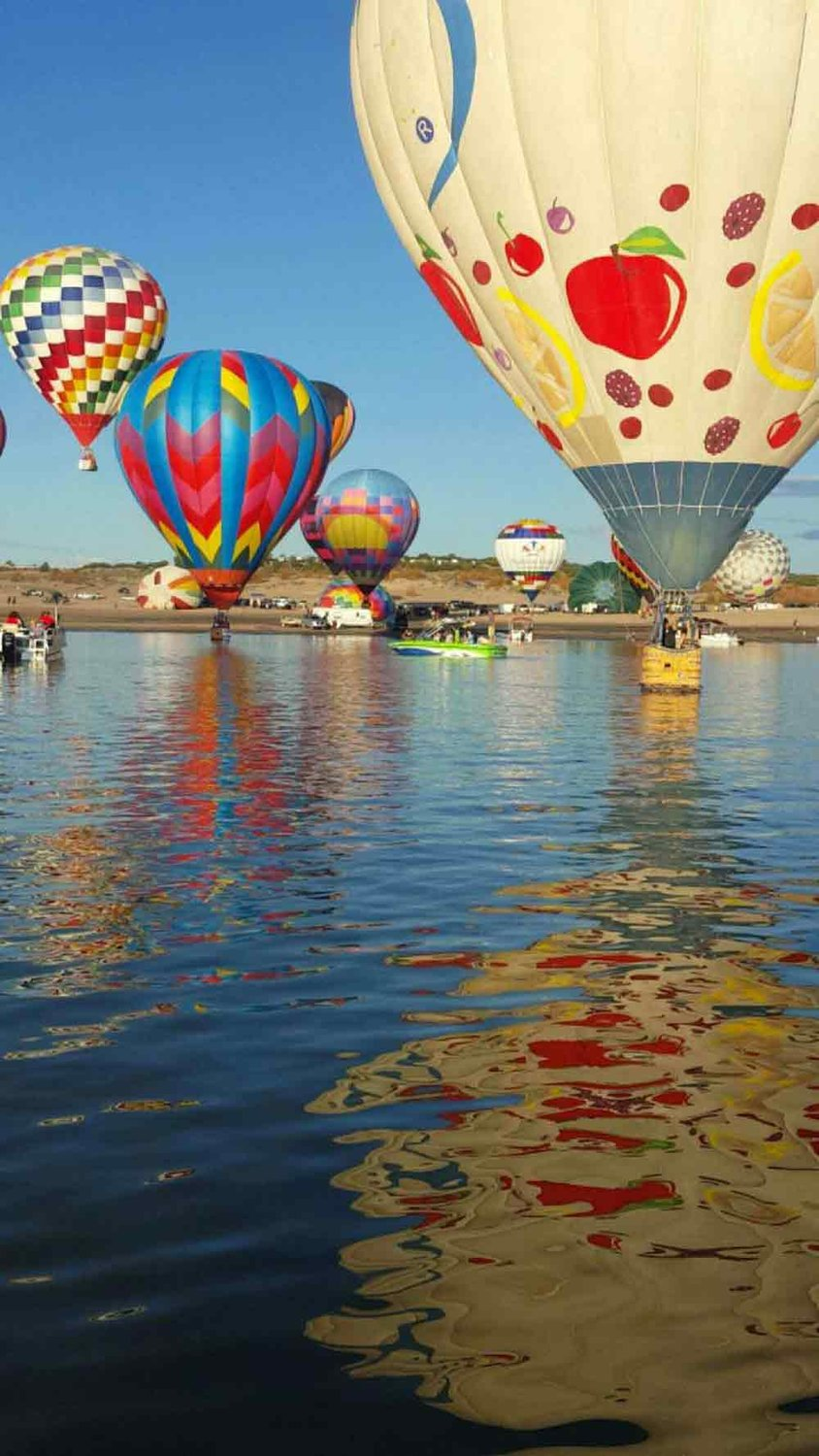 The Elephant Butte Lake Balloon Regatta takes place Sept. 15.