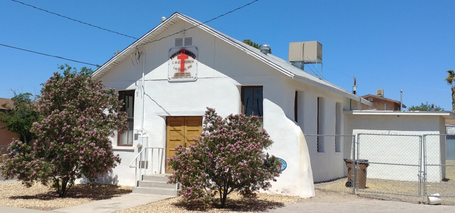 Phillips Chapel, 638 N. Tornillo St., is situated in the Mesquite Historic District.