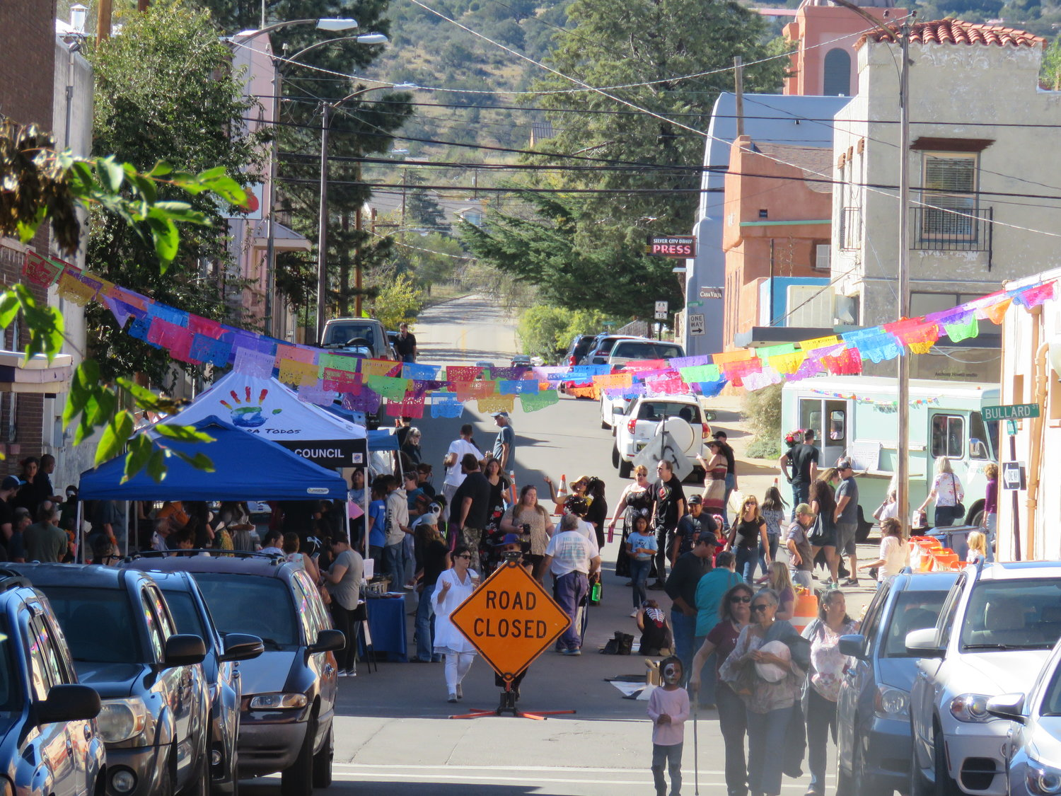 The Dia de los Muertos street festival is cause for celebration in Silver City.