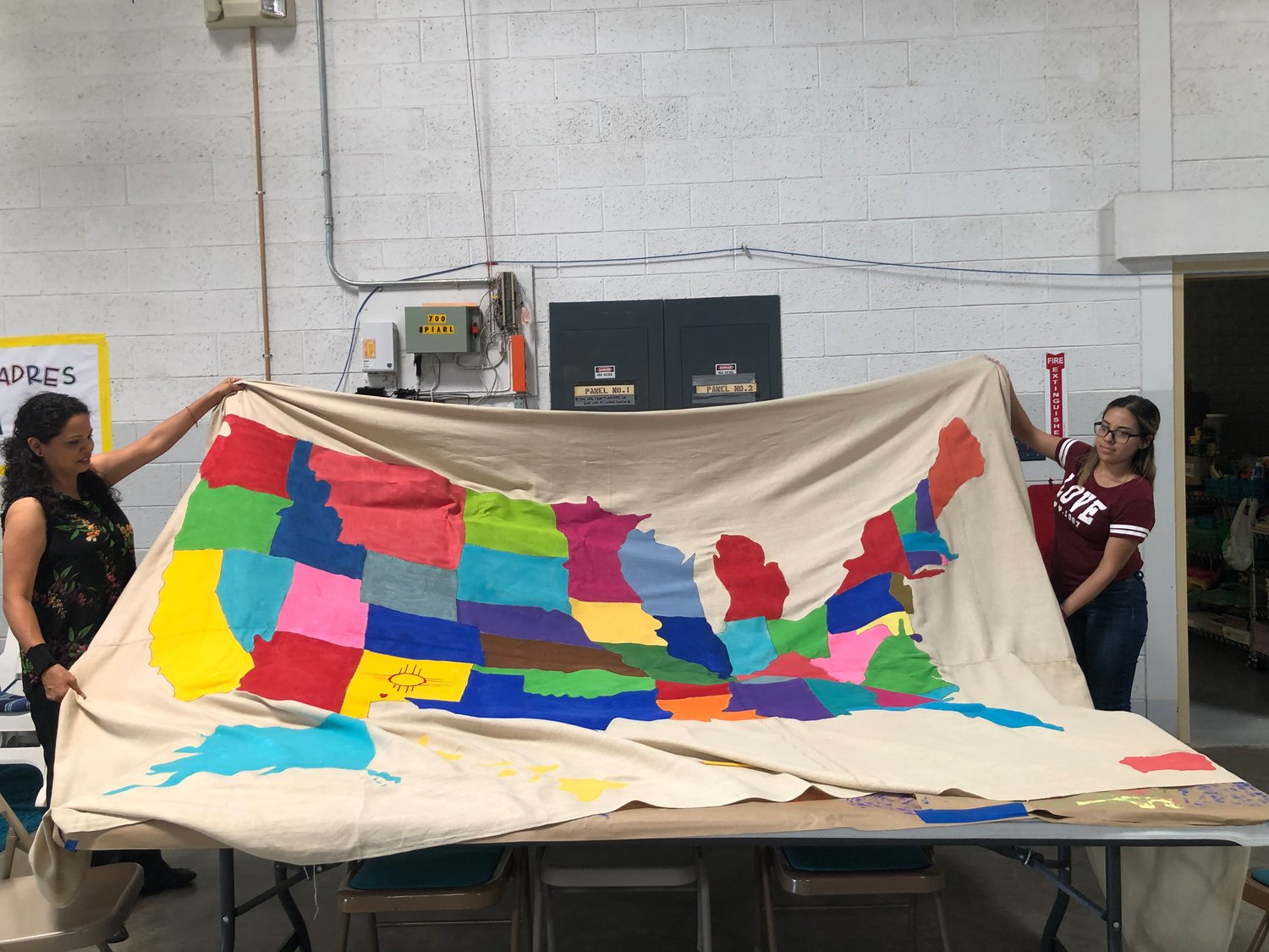 The shelter in Deming they're making a 