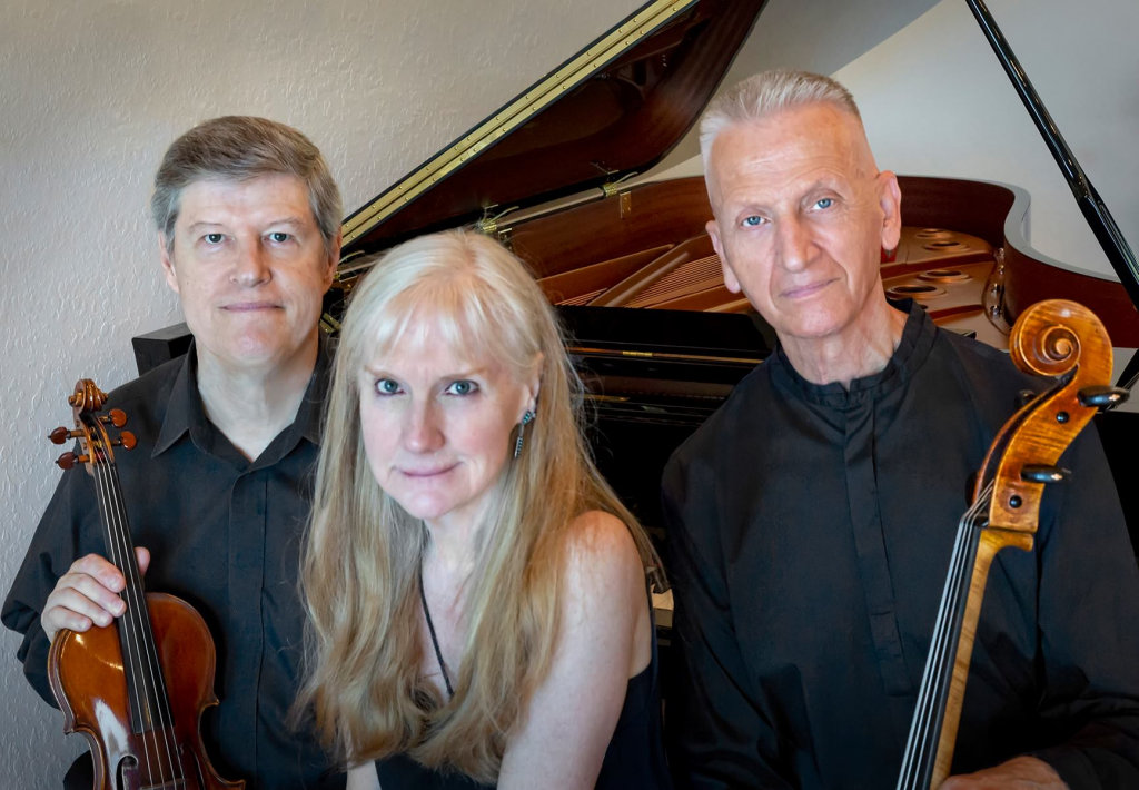 The Emerson Trio, playing piano, cello and violin, are featured at the Silver City Light Hall on Oct. 29.