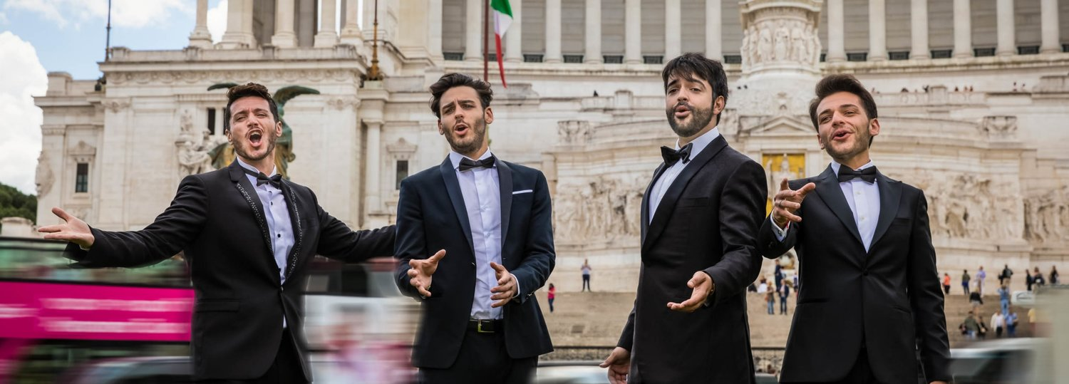 "Four Tenors take the stage of the Spencer Theater in Alto with ""Viva Italia!"" on Nov. 9."